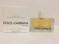 Dolce & Gabbana The One Woman 75ml EDP TESTER LUXE